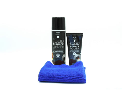 Eagle Solid Surface Cleaner Combi Pack