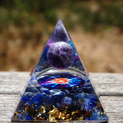 Handmade Orgonite Energy Pyramid