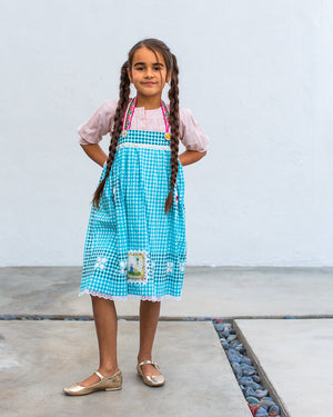 Dorothy Blue / Apron Dress