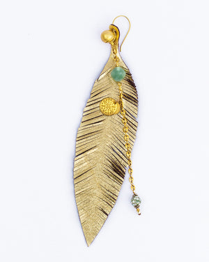 Naz Feather earring