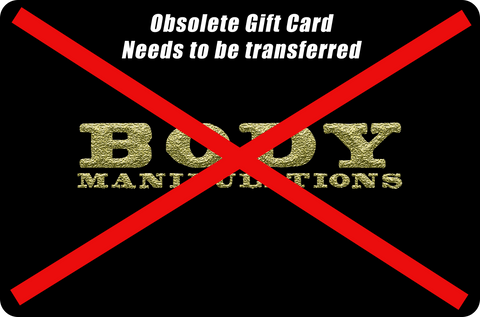 obsolete gift card