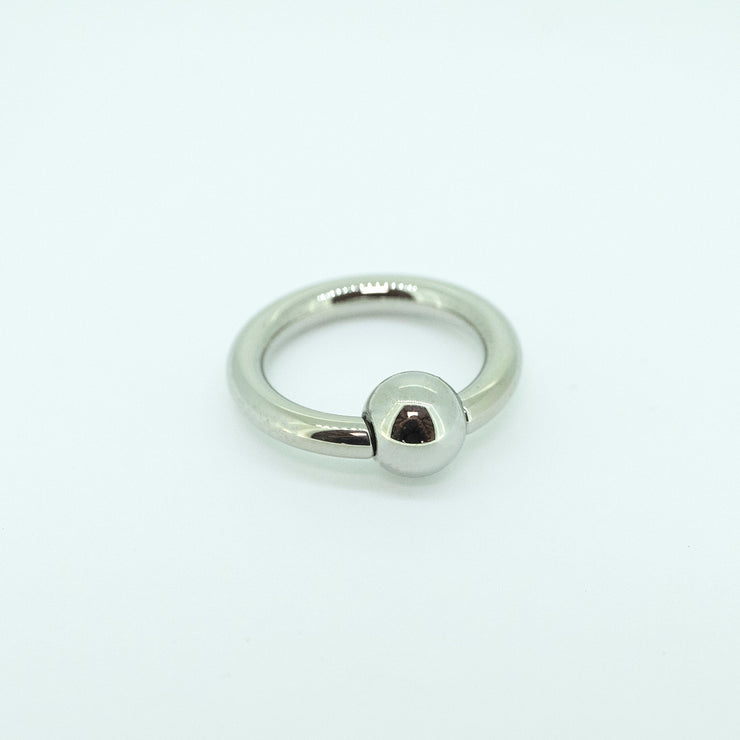 Titanium Captive Bead Ring