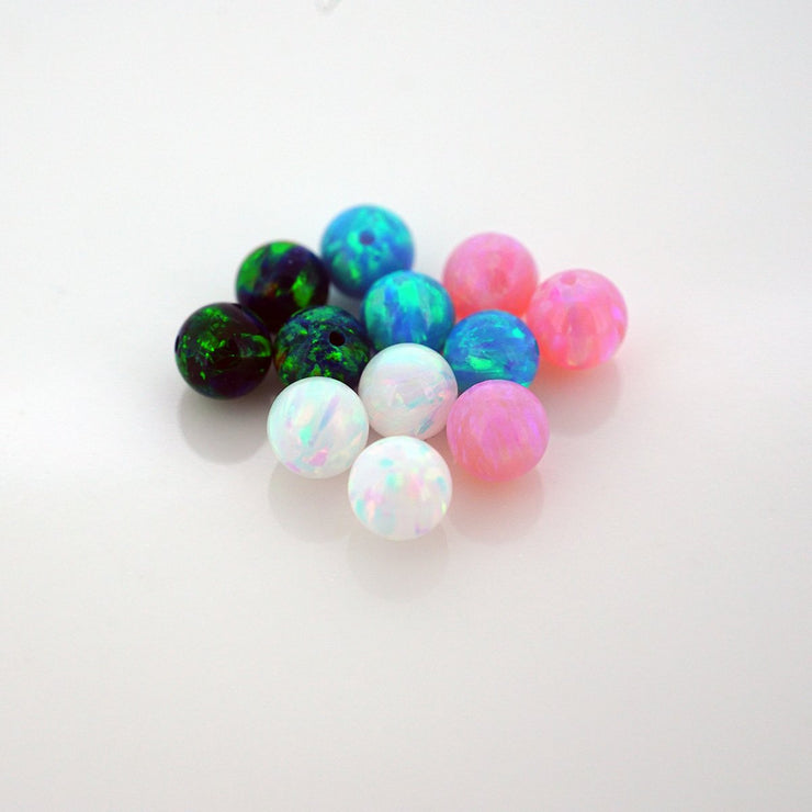 Synthetic Opal Captive Bead