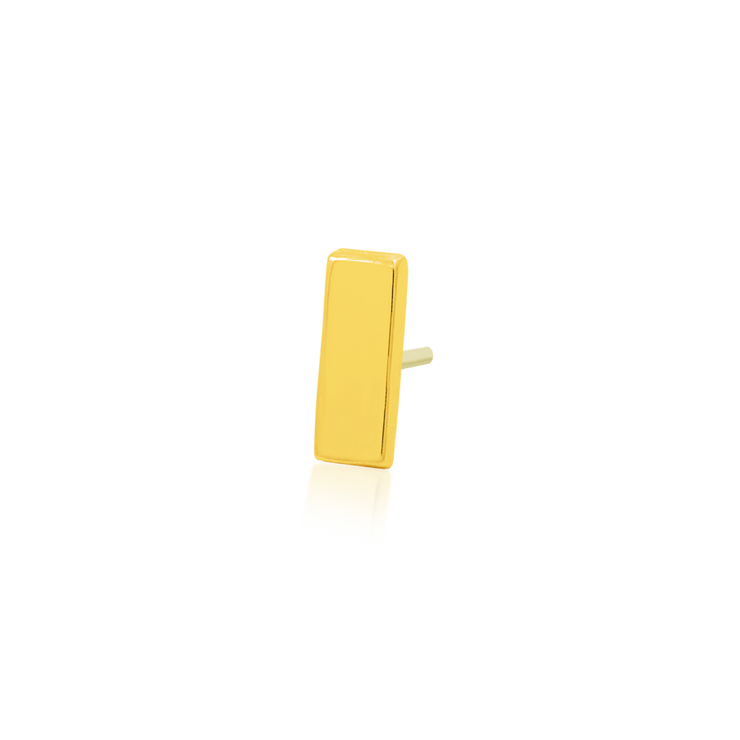 Gold Bar Threadless End