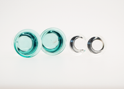 Translucent Color Front Glass Plugs