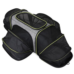 Pet Carriers Four Sides Expanded Dog Carriers Pet Car Travel Bag Expandable Pet Cat Puppy Dog Bag Slings Tote For Small Animals
