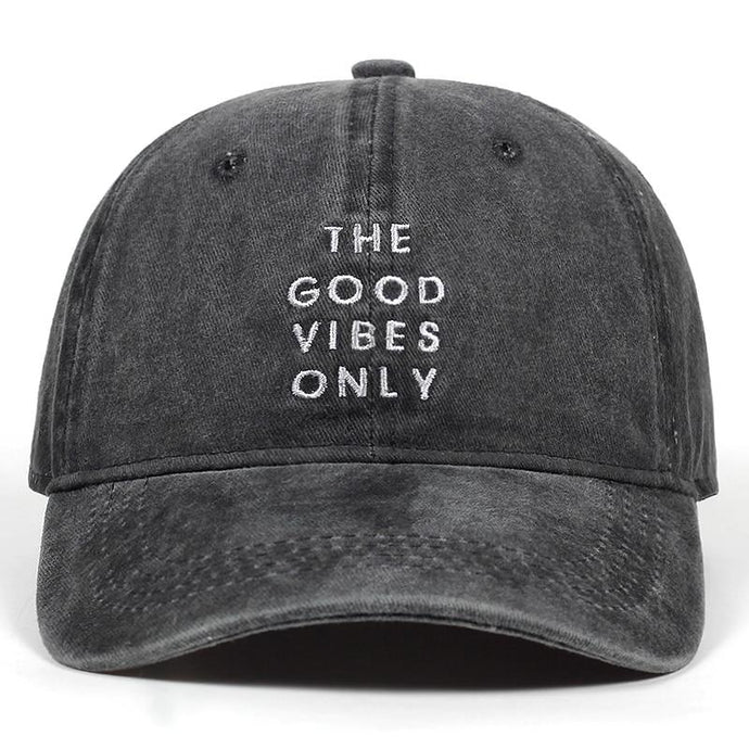 GOOD VIBES ONLY CAP.