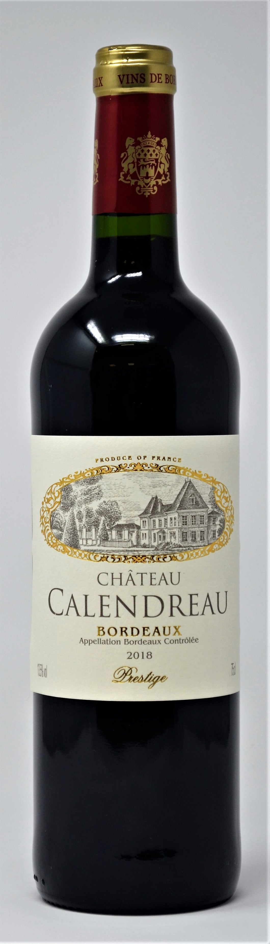 Chateau Calendreau Bordeaux 6bt case