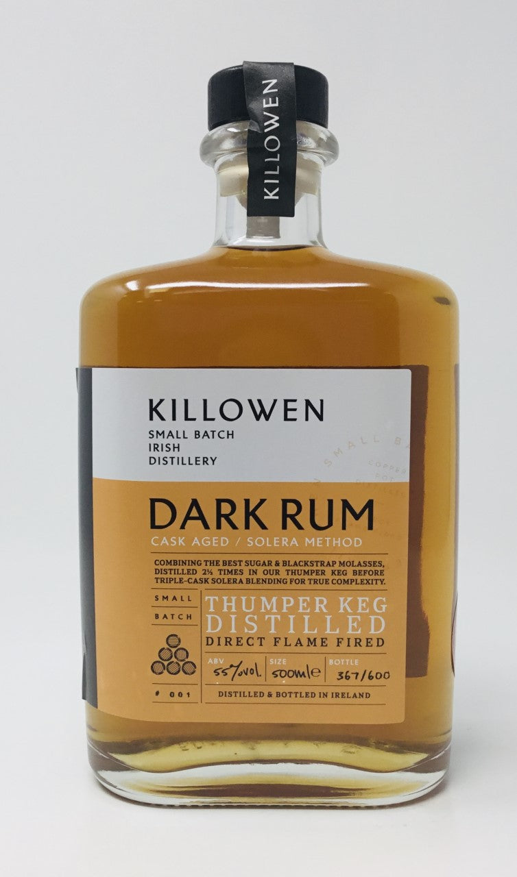 KILLOWEN CASKED AGED DARK RUM