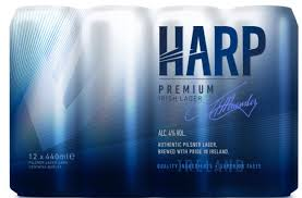Harp Lager 12x440ml cans