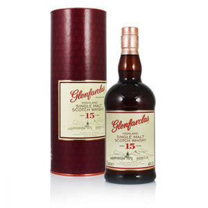 Glenfarclas 15 year old Highland Single Malt Scotch Whisky 46% abv