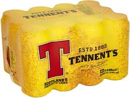 Tennents Lager 12x440ml cans