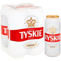 Tyskie 4x500ml cans