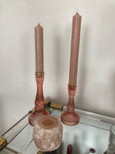 Afbeelding in Gallery-weergave laden, PINK CANDLE HOLDER L
