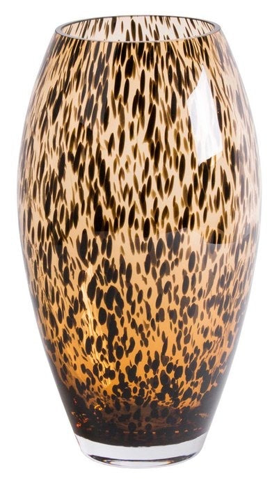 THE LONG CHEETAH VASE