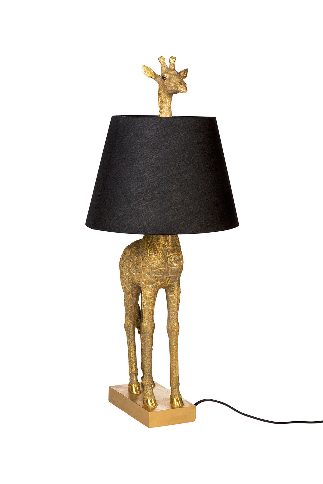 GIRAFFE LAMP GOLD