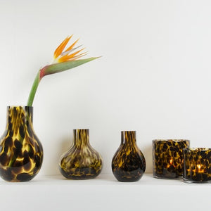 CHEETAH VASE SMALL