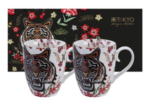 TIGER MUGS SET