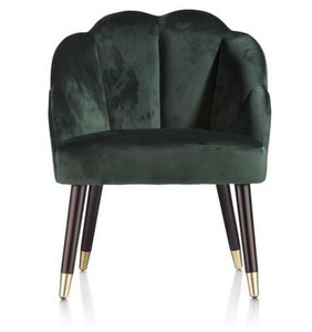 GREEN SHELL CHAIR