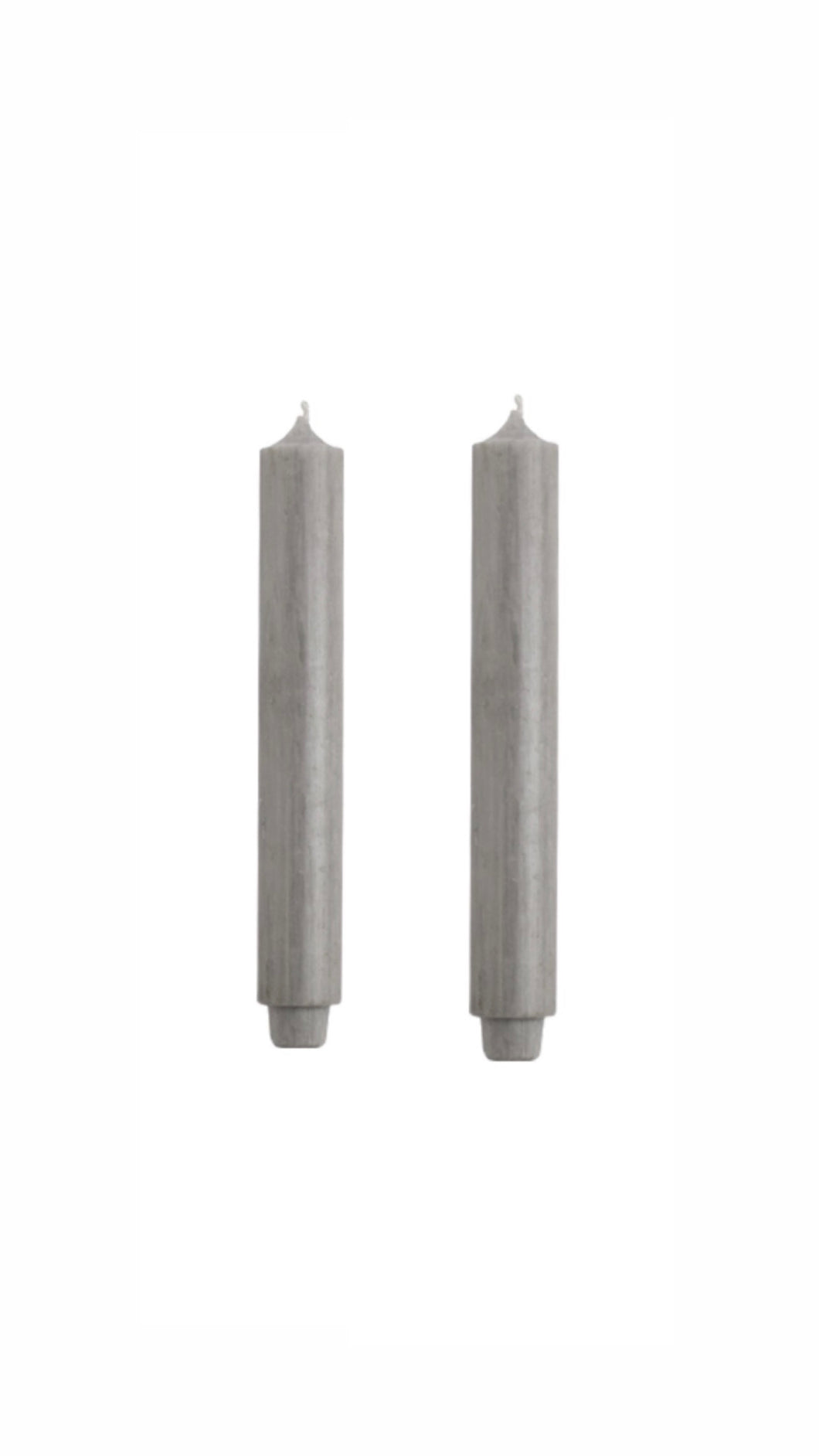 GREY DINER CANDLES | SET OF 2