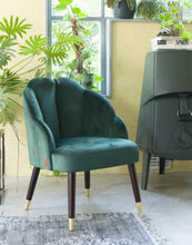 Afbeelding in Gallery-weergave laden, GREEN SHELL CHAIR
