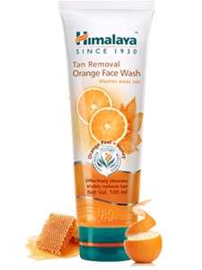 Tan Removal Orange Face Wash