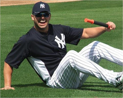 MLB Player Nick Swisher Rolling Out with His Tiger Tail