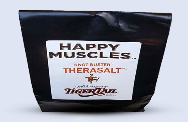 The Happy Muscles™ <br> Knot Buster™ <br> Therasalt™