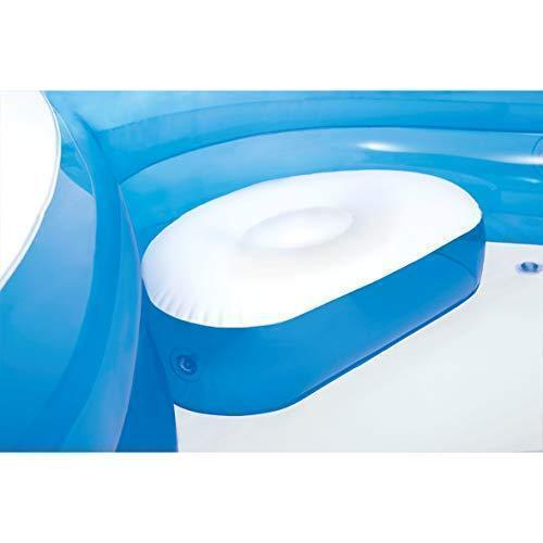 "Swim Center Family Lounge Inflatable Pool, 90"" X 90"" X 26"", for Ages 3+"