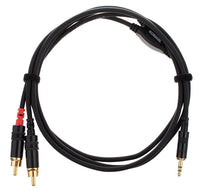 TRS Mini to (L-R) RCA Cable