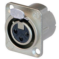 NEUTRIK 3P Panel Socket - Female/NC3FD-LX