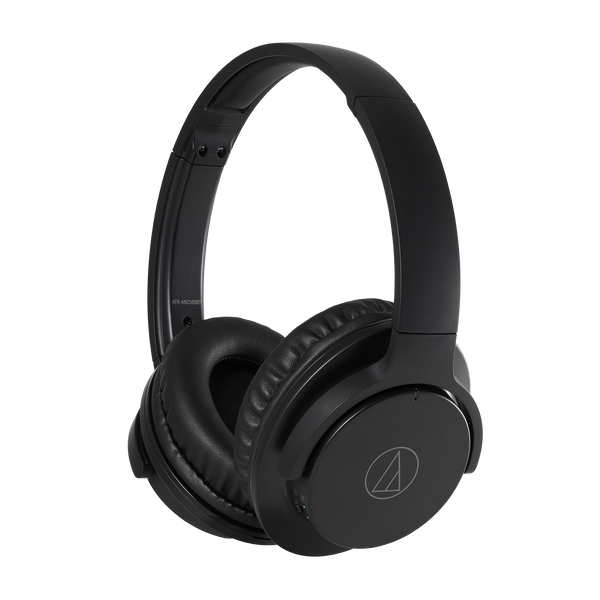 Wireless Active Noise-Cancelling Headphones ATH-ANC500BTBK