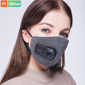 Purely Anti-Pollution Air Mask Purifier HEPA Filter Anti Dust Smog PM2.5 With Small Fan