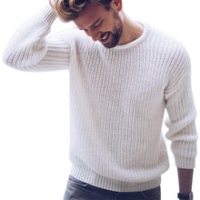 Load image into Gallery viewer, Mens Fashion Cotton Sweater Pullover Casual Jumper For Male  Knitted Korean Style Clothes Plus Size Sweaters