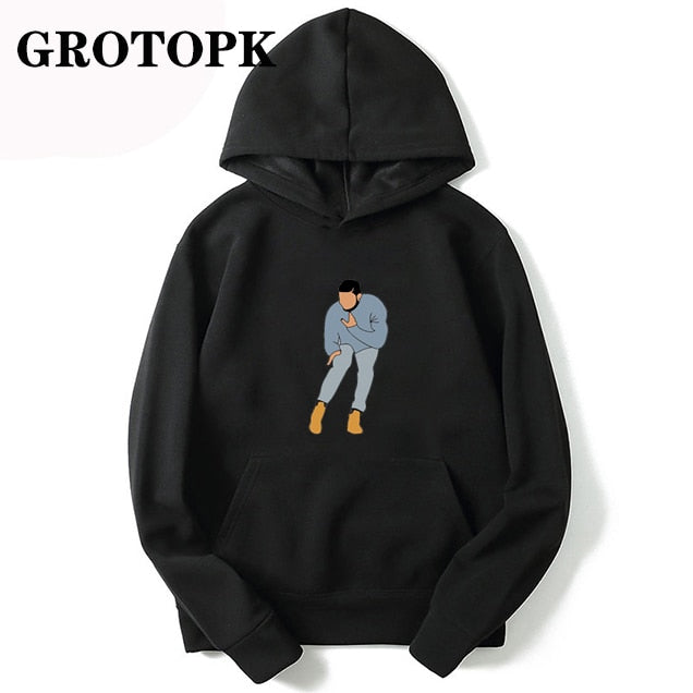 Funny Drake Hip Hop Rap Music Hoodies Autumn Long Sleeve Men Casual Hoodies Fashion Hoody Tops Rapper Sreetwear Hoodie
