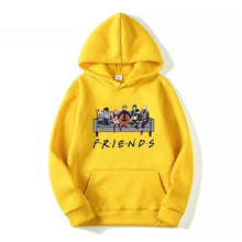 Load image into Gallery viewer, New Unisex Fashion Japanese Anime Uzumaki Naruto Friends Letter Printed Hoodies Cozy Tops Pullovers