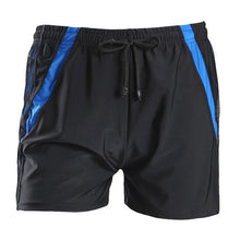 Load image into Gallery viewer, VERTVIE 2020 New Men Loose Large Size Swimming Shorts Solid Drawstring Casual Beach Trunks Male Water Sports Breathable Swimwear