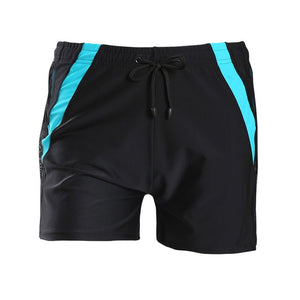 VERTVIE 2020 New Men Loose Large Size Swimming Shorts Solid Drawstring Casual Beach Trunks Male Water Sports Breathable Swimwear