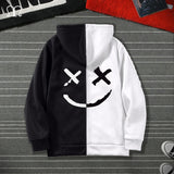 Men Women Sweatshirts Cardigan Harajuku Hip Hop Hoodies Male Fashion Cool Printed Streetwear Mens Clothes Outwear Big Size 5XL