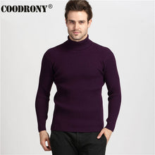 Load image into Gallery viewer, COODRONY Winter Thick Warm Cashmere Sweater Men Turtleneck Mens Sweaters Slim Fit Pullover Men Classic Wool Knitwear Pull Homme
