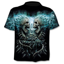 Load image into Gallery viewer, 2020 New Design t shirt men/women heavy metal grim Reaper Skull 3D printed t-shirts casual Harajuku style tshirt streetwear tops