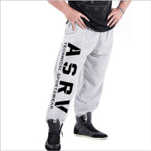 Load image into Gallery viewer, muscle men's Sweatpants fitness training joggers casual Autumn cotton Sweatpants Fashion streetwear pants men Elastic waistband