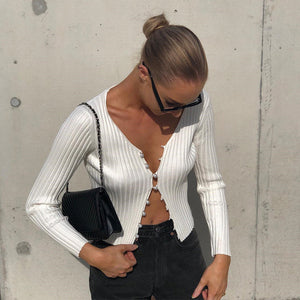 Womens Knotted Tie Front Bolero Shrug Long Sleeve Crop Top Knit Sweater Cardigan Black 2019 Autumn Mujer Warm Soft Sweater Tops