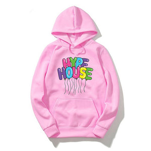 2020 The Hype House Sweatshirt Women Clothing Mens Hoodie Streetwear Harajuku Top Damskie Mujer Capucha Hip Hoody Hop Vetements
