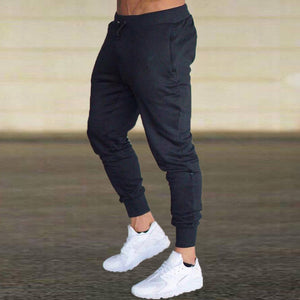 Mens Joggers Casual Cargo Pants Fitness Male Sportswear Tracksuit Bottoms Skinny Sweatpants Trousers Gym Jogging Track Pants
