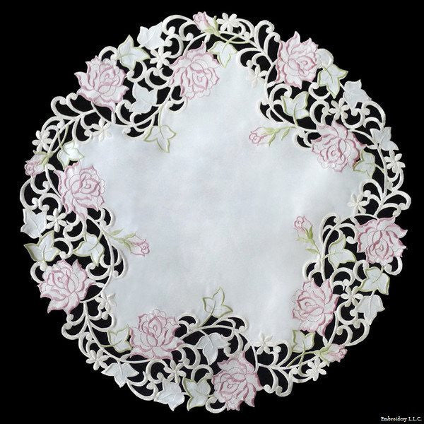 RS Pink Rose Cream Cloth