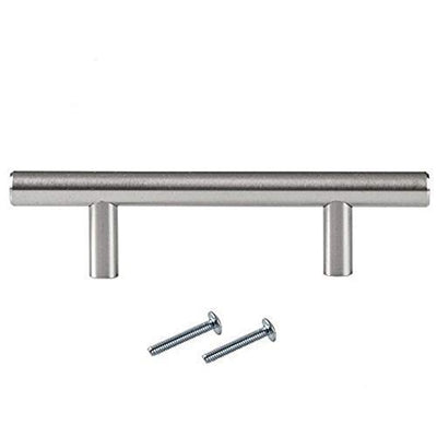 Satin Nickel Kitchen Cabinet Handles in Multiple Sizes & Pack Quantities