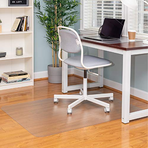 Office Chair Mat for Hardwood Floors 36 x 48 - Floor Mats for Desk Chairs