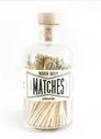 Matches in Apothecary Jar