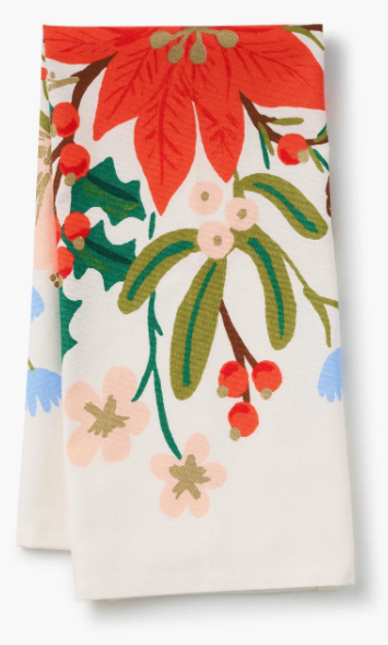 Holiday Tea Towel - Bouquet